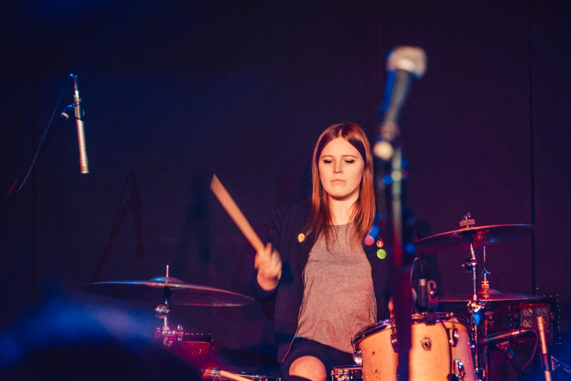 female drummers Daddy Issues Emily Maxwell
